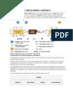 Capacidad de Intercambio Catiónico Quimica Agricola