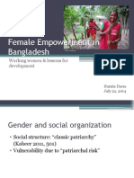 female empowerment in bangladesh