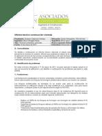 Informe Técnico Construcción Vivienda Achupallas