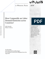 Paper Labor Demand Elasticities