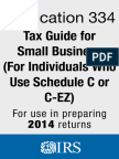 IRS p334 - Tax Guide for Small Business