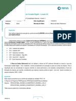 ECD – Escrituração Contabil Digital – Leiaute 3.0