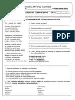 Prova I Bimestre de Lingua Portuguesa.pdf