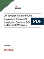 8.12 Install Win SQL