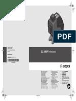 Bosch Gll 3 80 p Professional Manual 175328