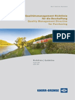 Procurement Quality Guidelines Rail Vehicles