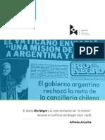 """El diario Rio Negro y la representación de """"lo chileno"""" durante el conflicto del Beagle (1977-1978)"""