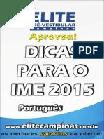 Portugues Ime 2015