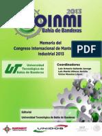Memoria Del Congreso Internacional de Mantenimiento Industrial 2013