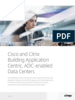 Building Application Centric ADC Enabled Data Centers