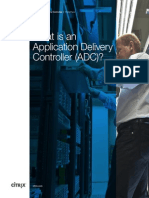 What is an Application Delivery Controller