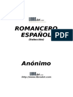 Anónimo - Romancero Español