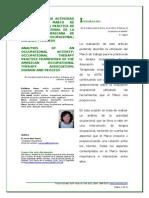 Terapia Ocupacional Analisis de actividad