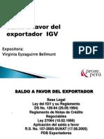 TRIBUTARIO-Saldo a Favor Del Exportador IGV