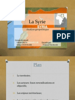 Geostratégie moyen orient