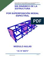11 Informe de Estructuras Modulo Aulas - Final