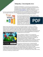 Advertising Digital Wikipedia, A Enciclopedia Livre