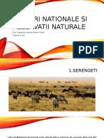 Parcuri nationale si rezervatii naturale