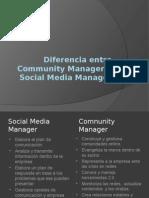 Diferencia Entre Community Manager y Social Media Manager