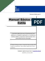 Manual Basico de Estilo - Cole