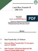 Transient Heat Conduction (Chap# 4)