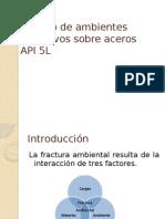 Fractura en Ambientes Corrosivos Protocolo Sin Antiguedad
