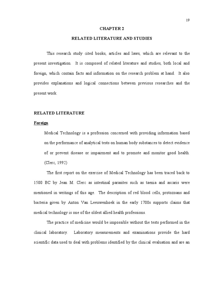 local studies of related literature about computer technology Literature review: government studies, project reports and journal the impact of technology change on issue areas related to.