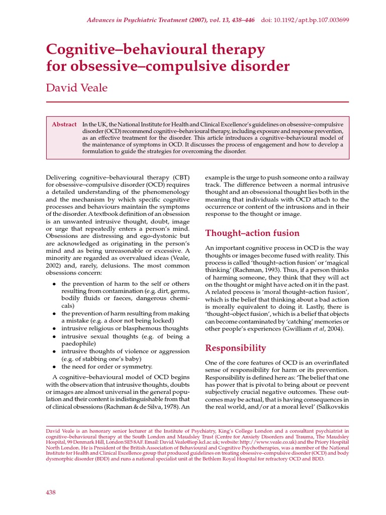 56-CBT-for-OCD-2007 | Obsessive–Compulsive Disorder