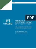 Herramientas de simulación urbana para la gestión de planes parciales