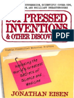 Suppressed Inventions Jonathan Eisen