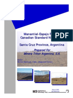 Manantial Espejo Technical Report