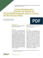 Dinamica Erosion Sedimentacion