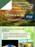 Cuenca Burgos geología del petróleo