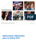 Nokia N70 AplicationGuide SP