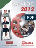 Catalogo Uninet 2012