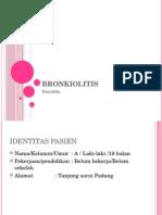 Bronkiolitis ppt