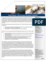 2011 Nickel Release - New European Standards Published