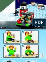 40182 Lego Bricktober Fire Station Instructions