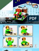 40181 Bricktober Pizza Place Mini