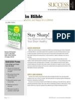 Brain Bible Summary - Success Magazine Book Summaries