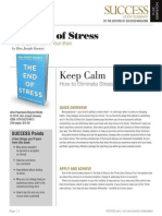 End of Stress Summary - Success Magazine Book Summaries