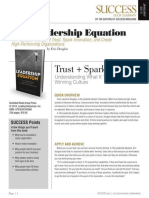 Leadership Equation Summary - Success Magazine Book Summaries