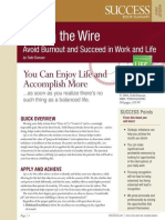Life on the Wire Summary - Success Magazine Book Summaries