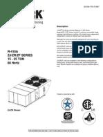 TRANE Airside Economizer | Hvac | Air Conditioning