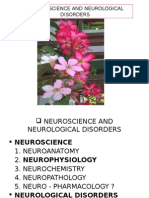 Neuroscience and Neurological Disorders