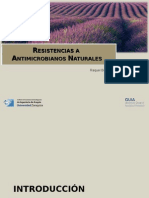 resistencias antimicrobianos naturales