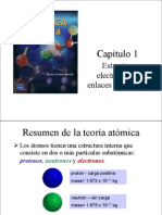 CAP 1 Estructura Electronica y Enlaces Covalentes