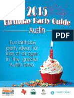 2015 Greater Austin Birthday Party Guide