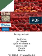 Anemia Hemolitica 2015