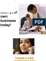 Start Your Own Business Today!